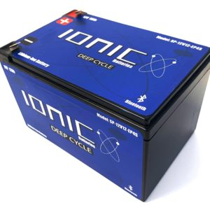 Ionic Lithium Battery - 12V 12Ah LiFePO4 Deep Cycle Battery