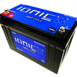 Ionic 12 Volt 125AH Lithium Deep Cycle Battery