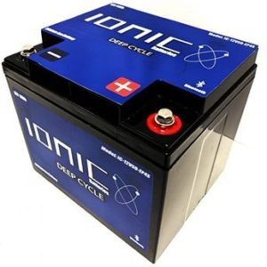 Ionic 12 Volt 50Ah Deep Cycle Lithium Battery