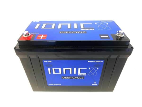 Ionic Lithium Deep Cycle 24 Volt 50Ah Battery