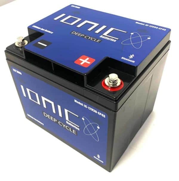 Ionic Lithium Deep Cycle 12 Volt 30AH Battery