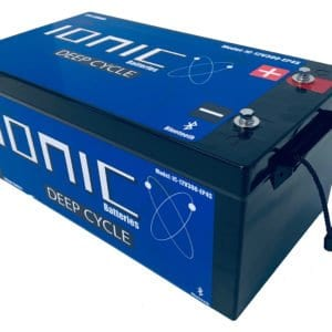 Ionic Lithium Battery - 12V 300Ah LiFePO4 Deep Cycle Battery