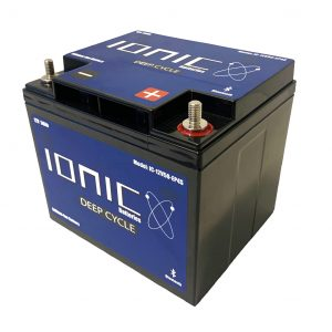 Ionic Lithium Battery - 12V 50Ah LiFePO4 Deep Cycle Battery